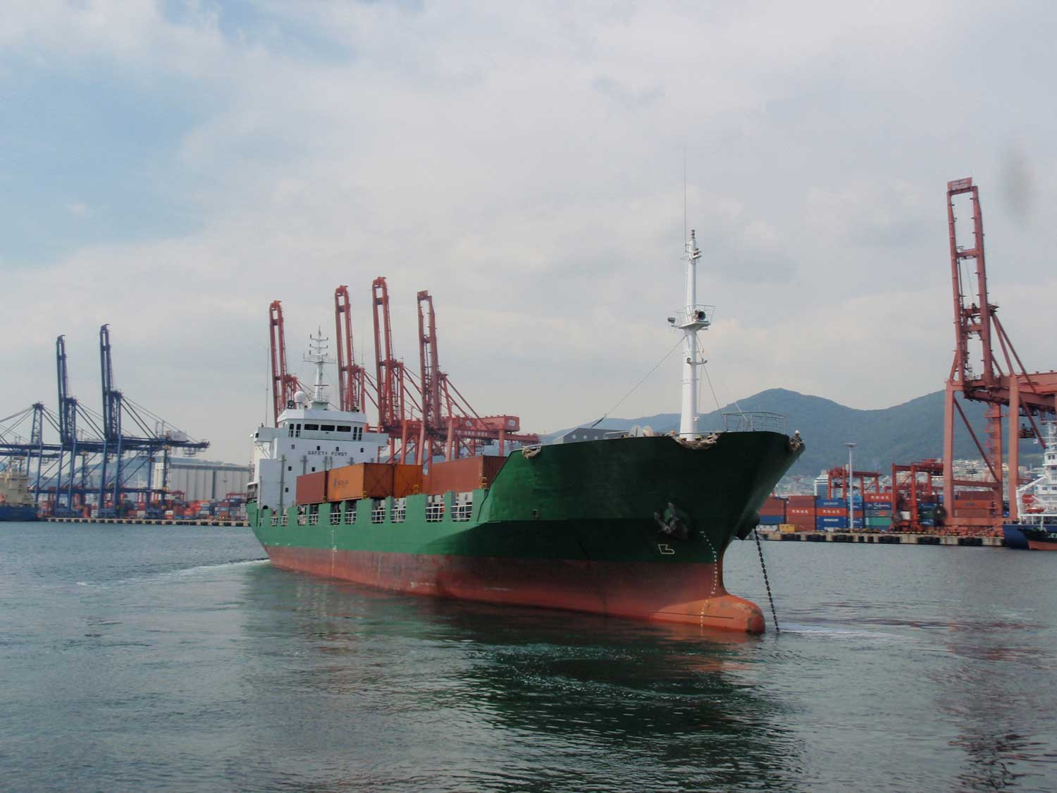 316TEU GEARLESS CONTAINER CARRIER